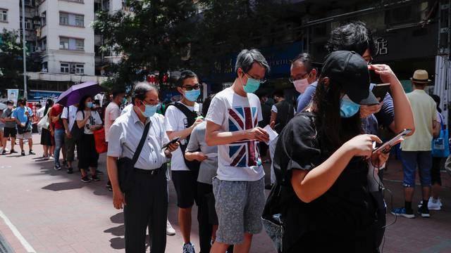 Hong Kong bira demokratske kandidate za izbore u rujnu