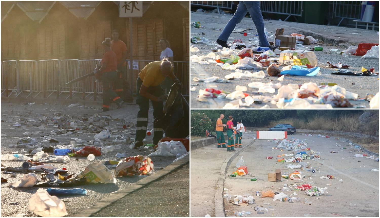 Splitske ulice prepune smeća: 'Nema što sve nismo pronašli'
