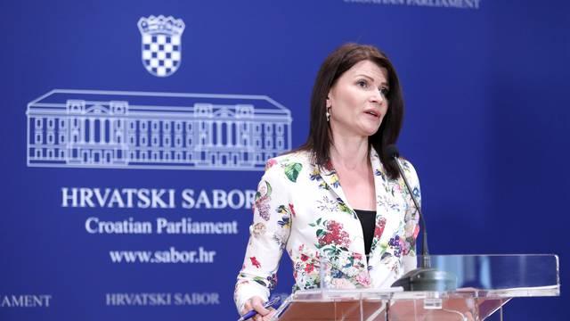 Zagreb: Sabina Glasovac obratila se medijima s temom državne mature
