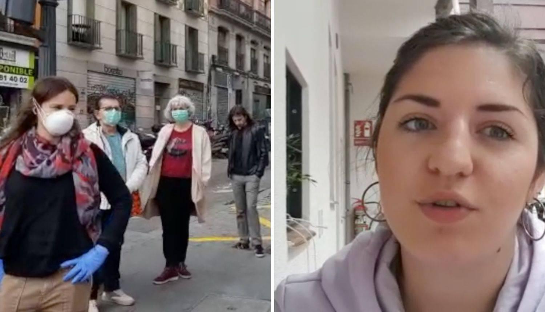 Marta (23) o stanju u Madridu: 'Više ne smijemo ni u parkove'