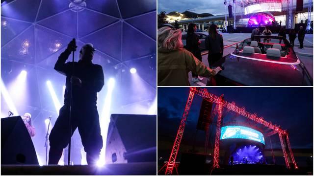 Kawasaki 3P oduševio publiku drive-in koncertom u Zagrebu