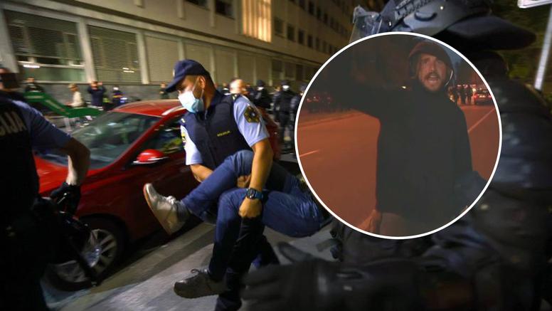 Slovenska policija traži ovog muškarca zbog zločina tokom prosvjeda, jeste li ga vidjeli?
