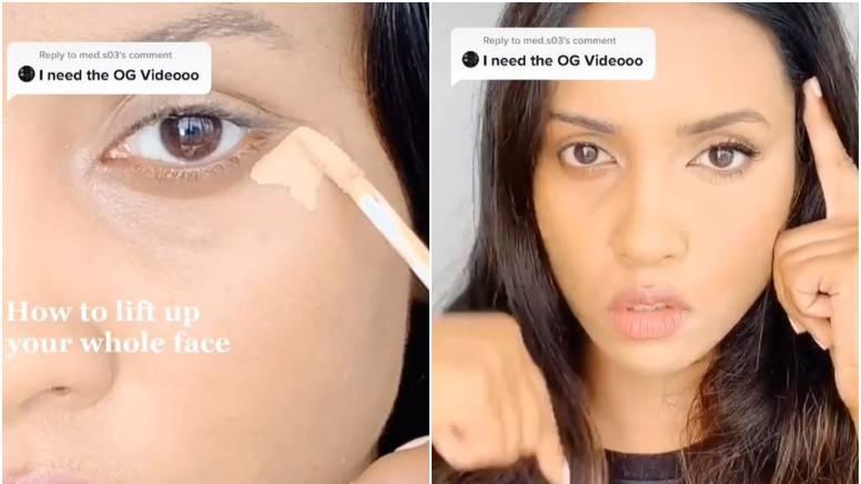 Otkrila način kako korektorom 'dići' lice i sakriti nepravilnosti