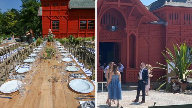 Organizatorica Veljačine svadbe otkrila: 'Sve je ovdje prekrasno, a prostor je poseban kao i oni'