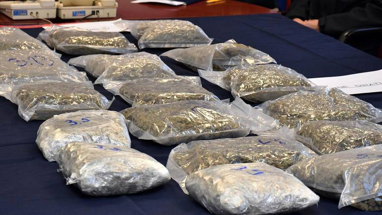 Krijumčarili sedam tona droge, među njima ima i Hrvata