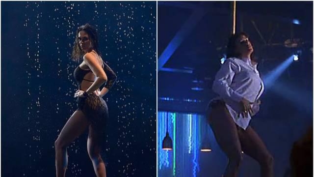 Viktorija Rađa se 'izvijala' kao Demi Moore u filmu 'Striptiz'