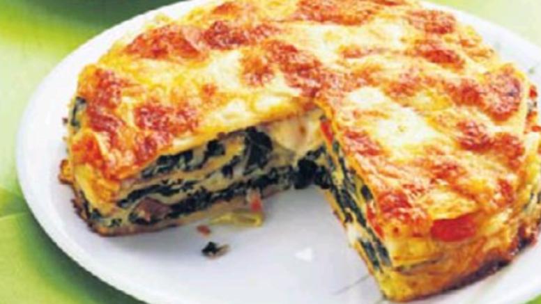 Recept: Lazanje od palačinki s blitvom, mozzarellom i ricottom