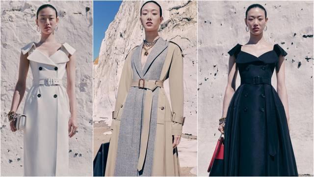 Alexander McQueen: Kako je trench kaput postao haljina?