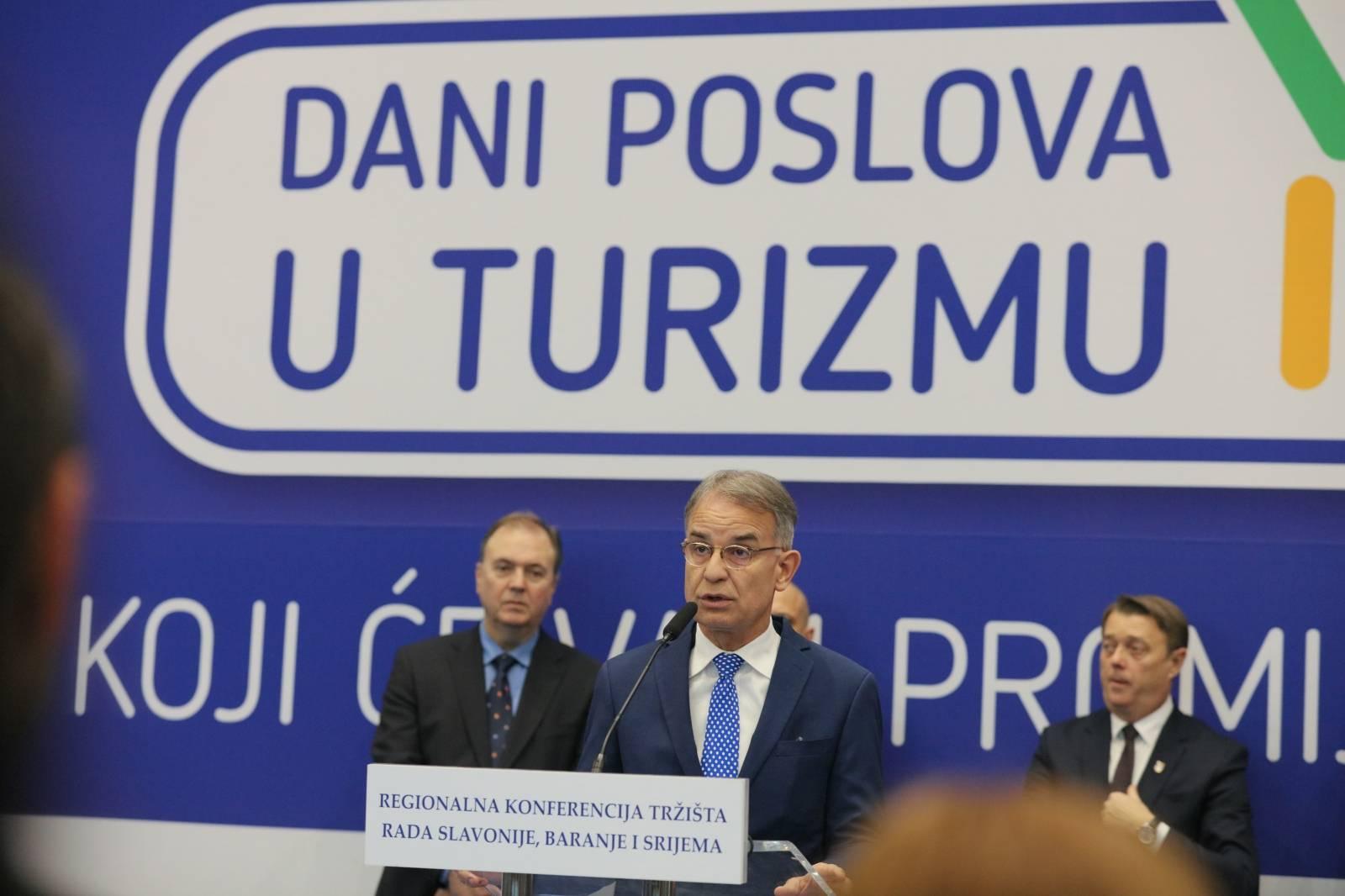 Osijek: Dani poslova u turizmu na regionalnoj konferenciji tržišta rada Slavonije, Baranje i Srijema