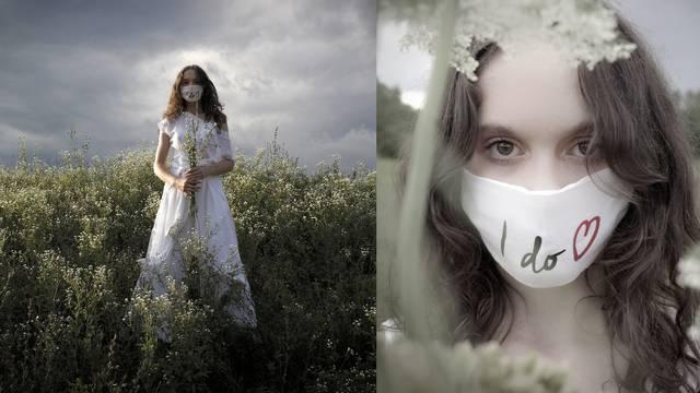 Etna Maar predlaže svilene vjenčanice i maske u kompletu