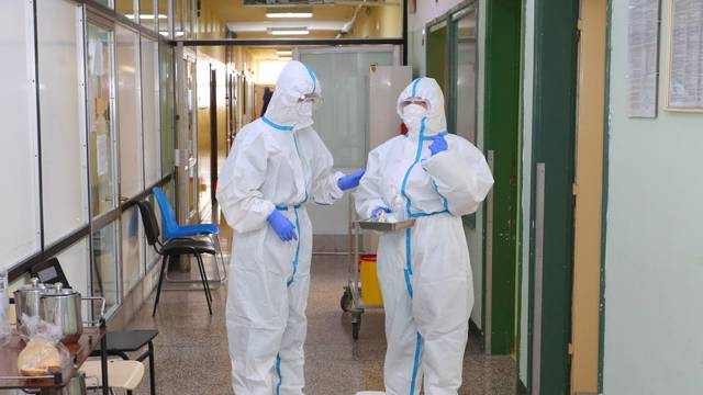Karlovac: Odjel za COVID karlovačke bolnice