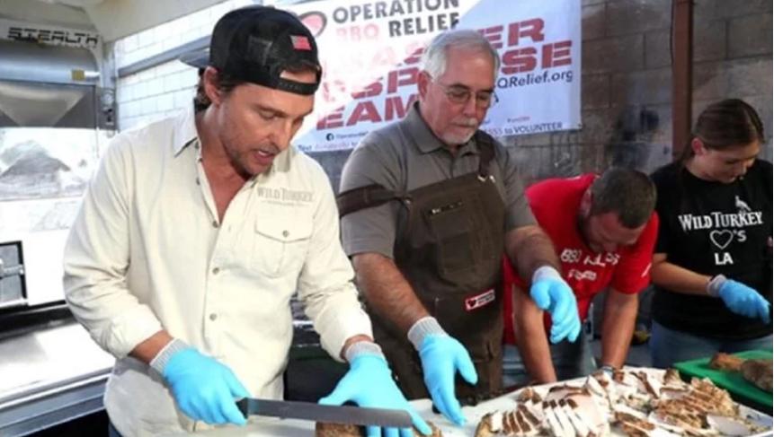 Kuhar McConaughey: Spremio čak 800 obroka za beskućnike