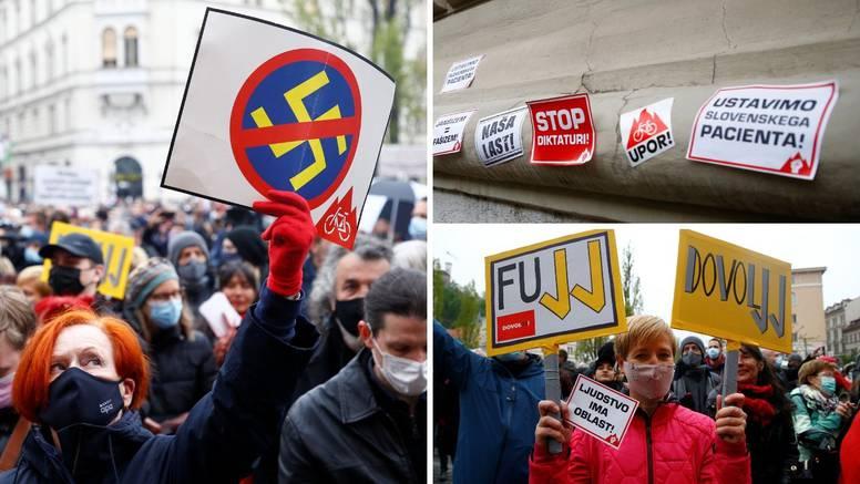 Masovni prosvjed protiv Janeza Janše: 'Zaustavimo pacijenta!'