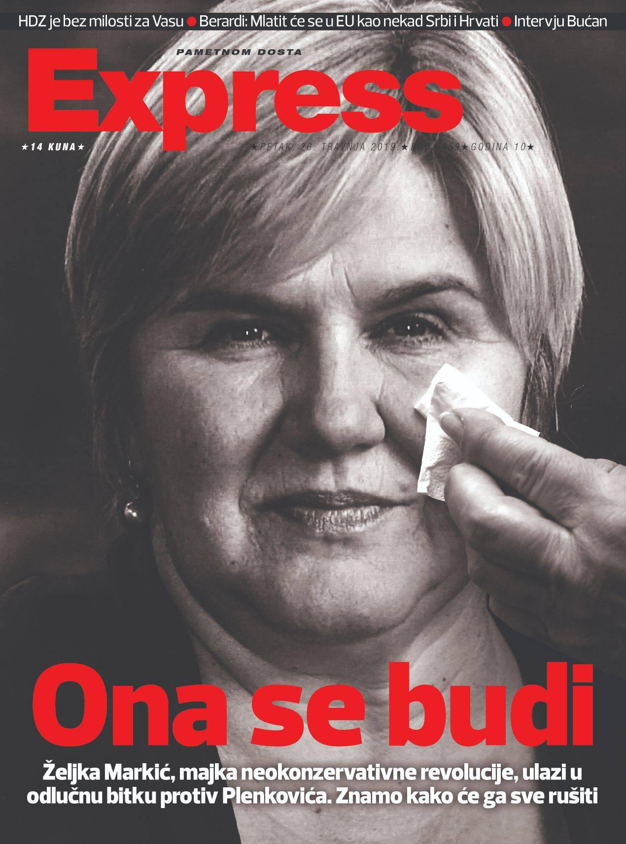 Željka Markić opet na ulicama: Sad će trčati počasni krug...