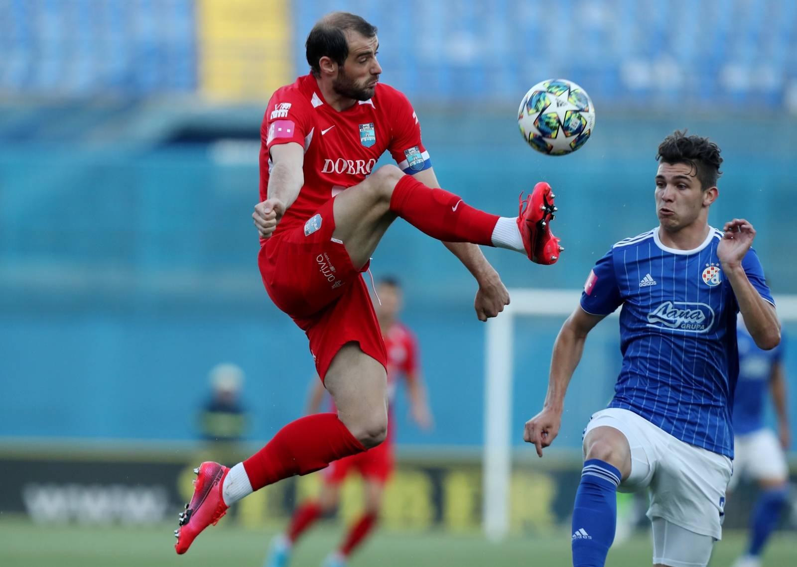 Druga Dinamova 'nula' u nizu, Osijek je na bod od Lige prvaka