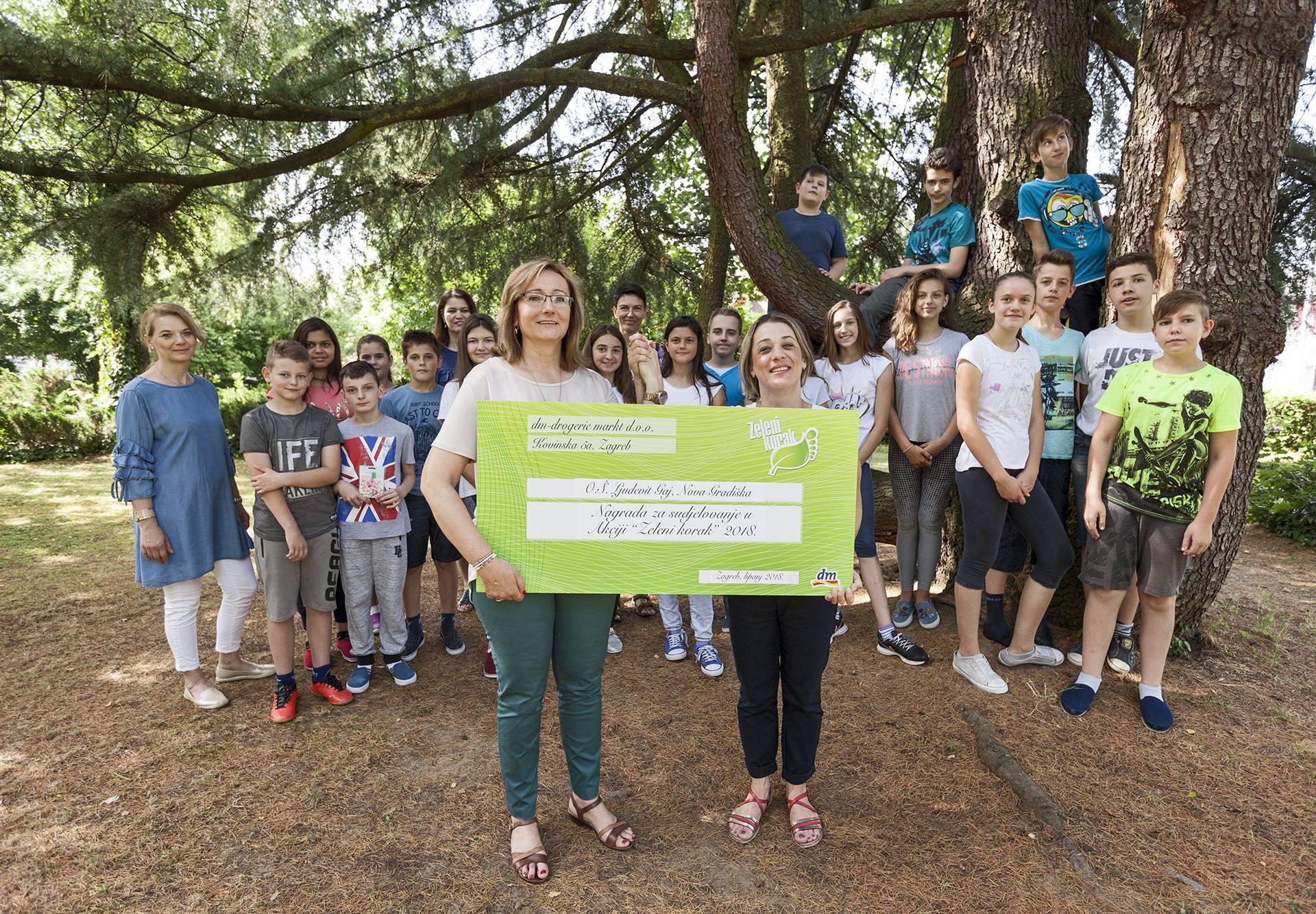dm poziva osnovne škole da se uključe u 9. akciju Zeleni korak