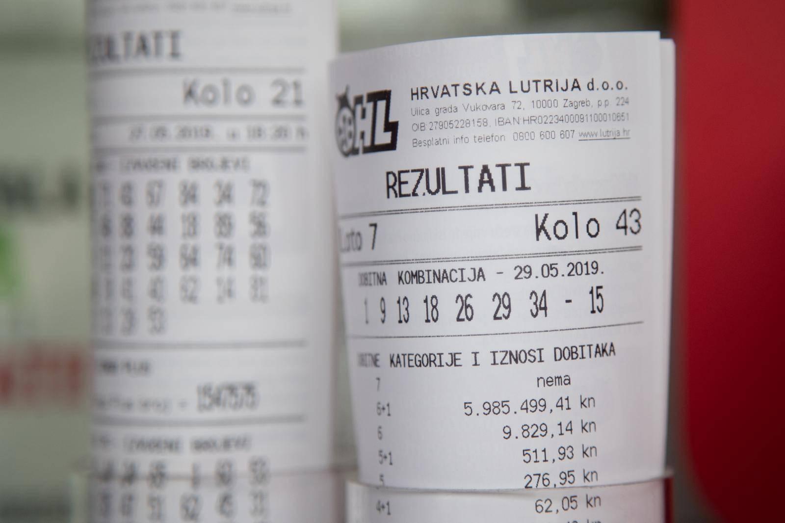 Sretnik iz Zagreba večeras je postao bogatiji za 871.470 kn