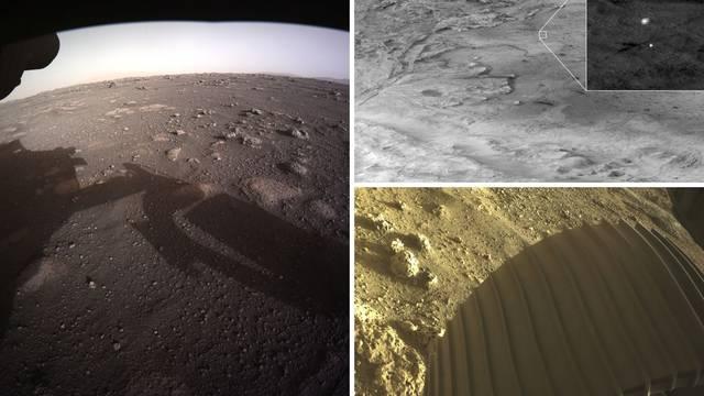 Perseverance je snimio nove fotografije s površine Marsa
