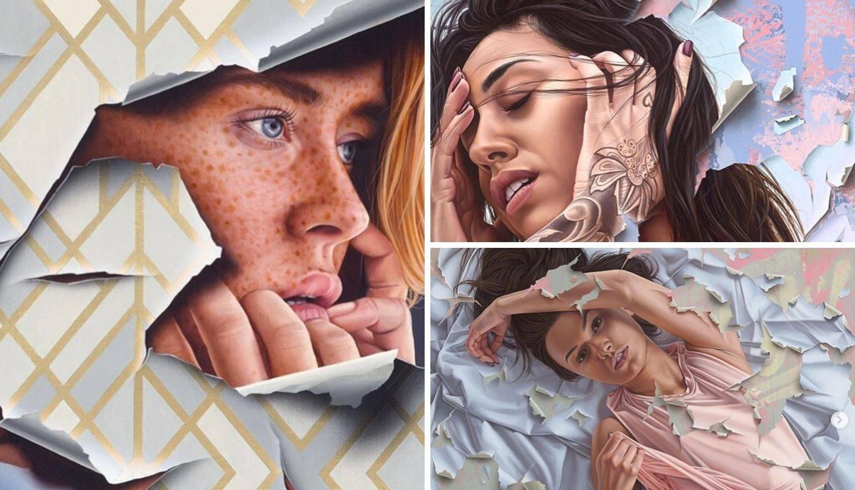 Ovaj umjetnik radi nevjerojatno realistične portrete žena, na tri jedinstvena i predivna načina