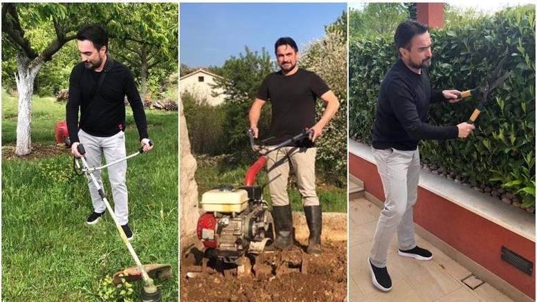 Jole u polju: S ocem se znojim, sadim, orem, gnojim i kopam...