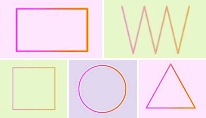 Test osobnosti: Koji oblik biste odabrali - kvadrat, trokut, krug, pravokutnik ili cik-cak liniju?