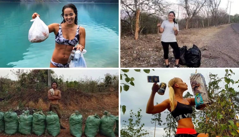 Selfiji napokon imaju smisao: Fotkaju se dok skupljaju smeće