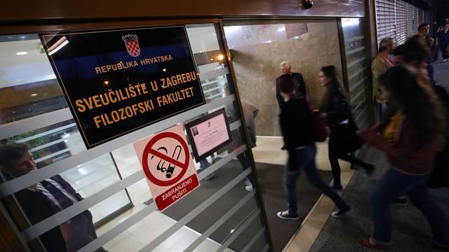 Kriza na Filozofskom još traje: Senat odbio Jovanovića i Geld