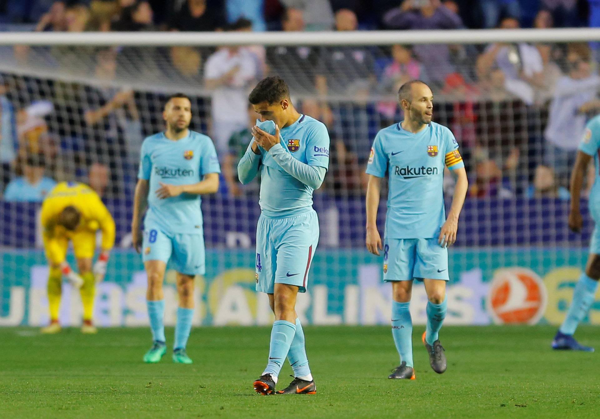 La Liga Santander - Levante vs FC Barcelona