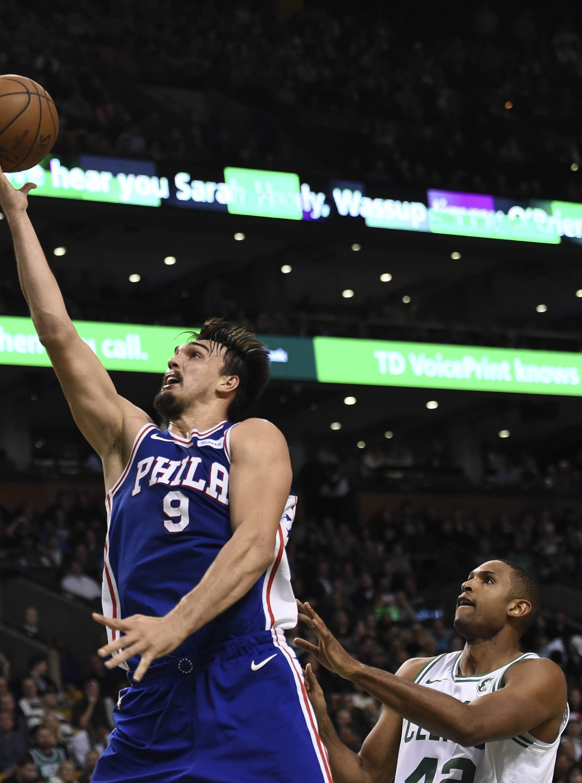 NBA: Philadelphia 76ers at Boston Celtics
