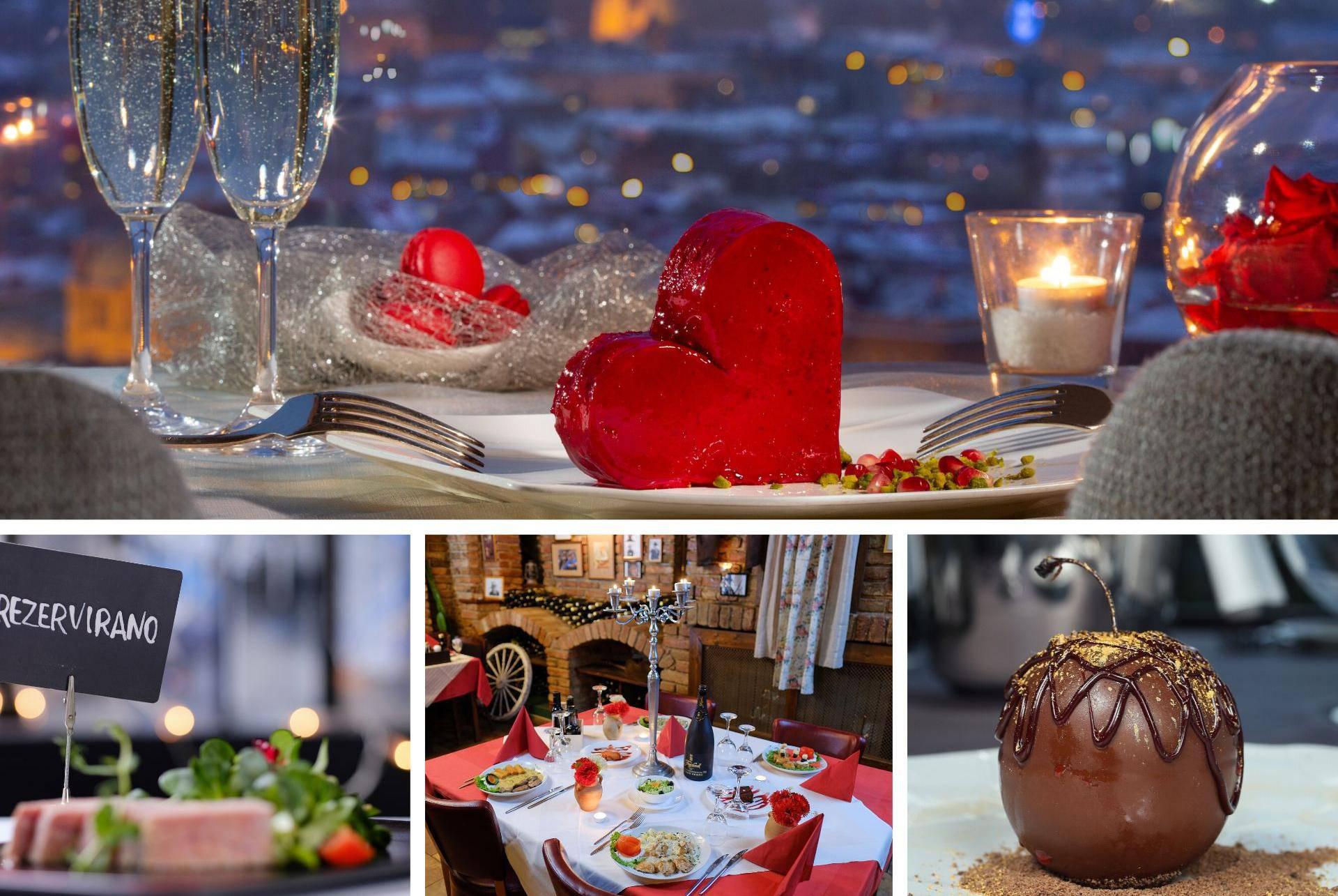 Gdje na večeru za Valentinovo? Ovo je top 8 mjesta za uživanje