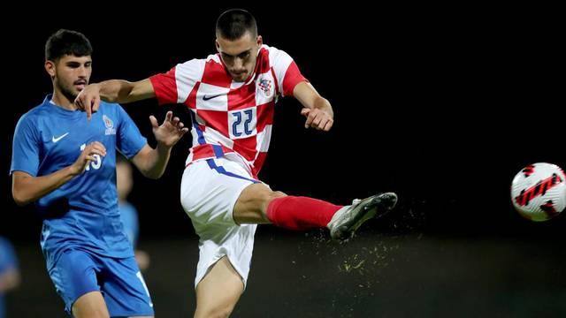 Velika Gorica: Kvalifikacije za U21 Europsko prvenstvo, Hrvatska Azerbajdžan
