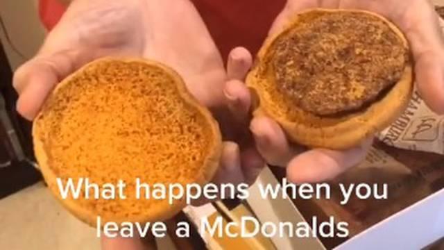 'Kao nov': Čuvala hamburger iz McDonald'sa star 24 godine