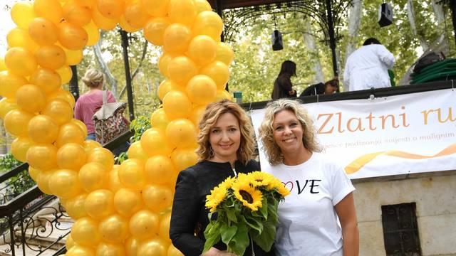 Zagreb: Na Zrinjevcu obilježen Mjesec podizanja svijesti o malignim bolestima djece