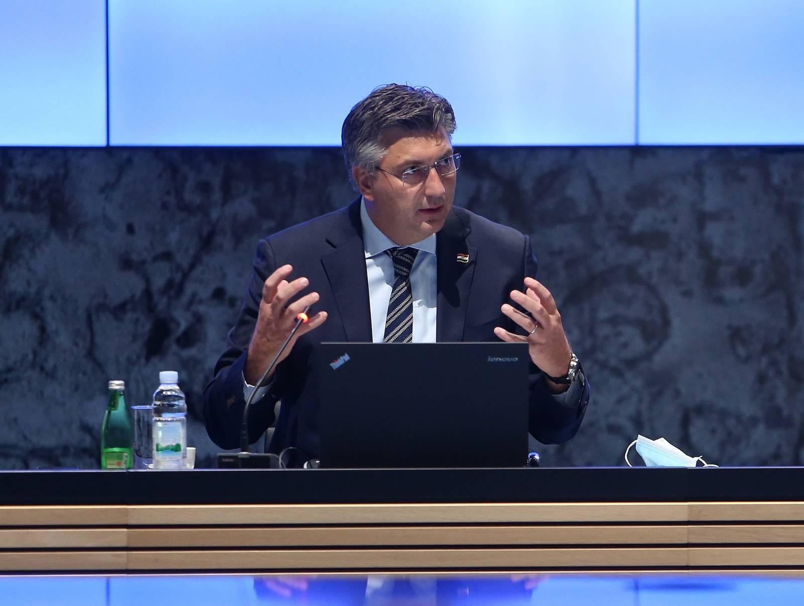 Premijer Plenković predsjedao Prvom sjednicom Stručnog savjeta za obnovu