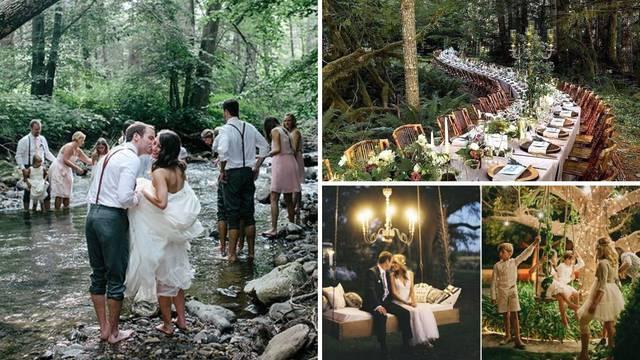 Svadba usred šume: Super ideja kad vam je potreban 'razmak'