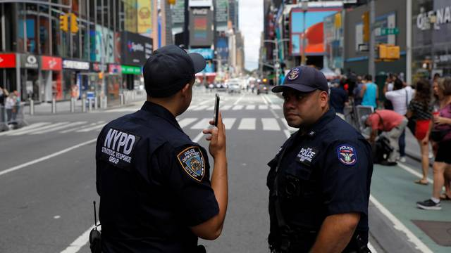 New York City Police Department (NYPD) announce members of its force who are not vaccinated against Covid-19 will be required to wear masks in Manhattan, New York City