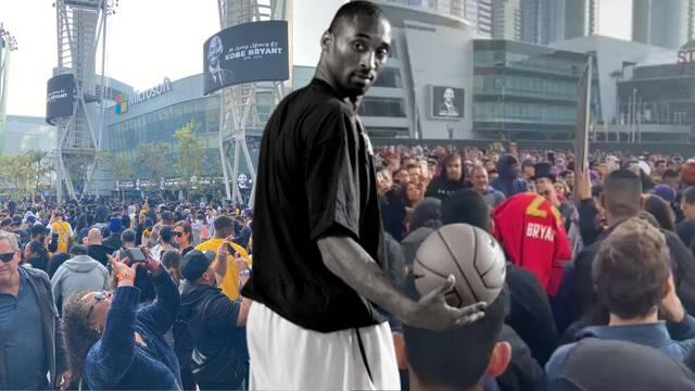 Hrvat u LA-u: Kao da se cijeli svijet došao oprostiti od Kobea