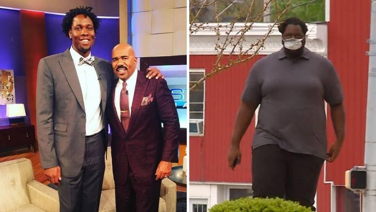 Prije godinu dana igrao u NBA ligi, a sada je došao na 200 kila