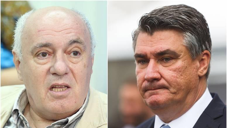 Puhovski o Milanoviću: Ja sam politički irelevantan, a on nije neka intelektualna kategorija