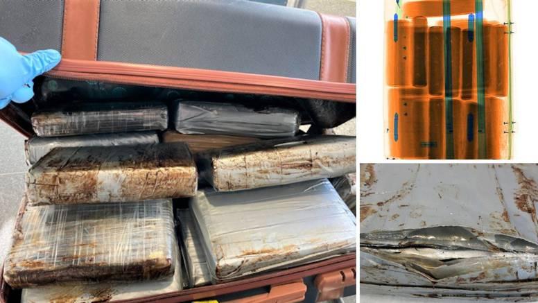 Doletio im kofer pun kokaina: Njemački carinici traže za koga je bio paket vrijedan 5 mil. eura