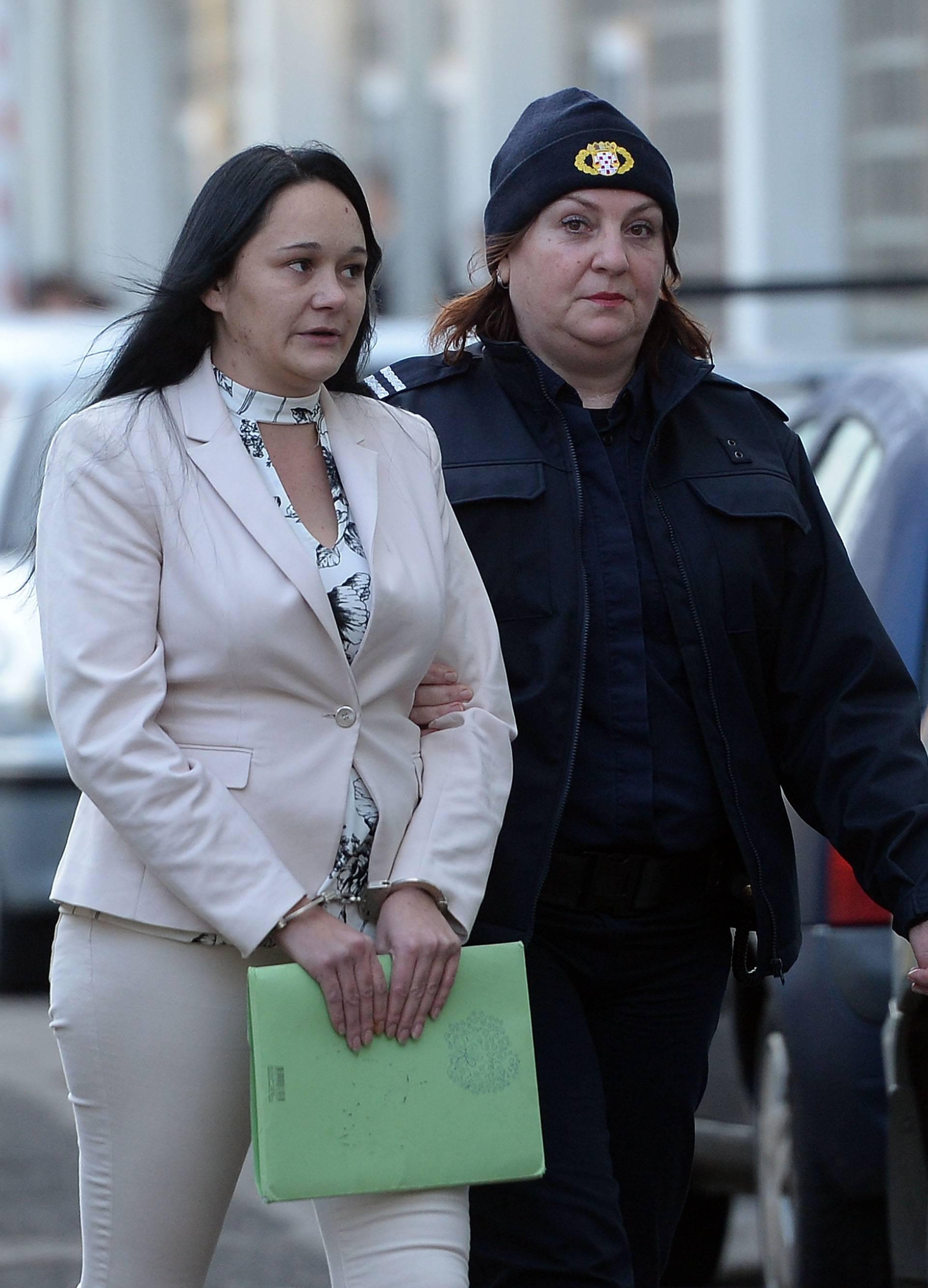 Varazdin: Nastavak sudjenja suđenja Kseniji Topolovčan optuženoj za ubojstvo supruga