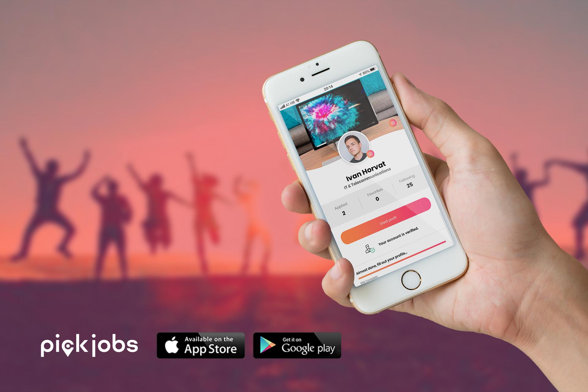 Hrvati osmislili moderan način kako doći do posla, imaju više od 3000 oglasa  na PickJobsu