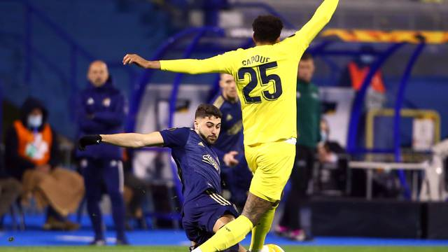 Europa League - Quarter Final First Leg - GNK Dinamo Zagreb v Villarreal