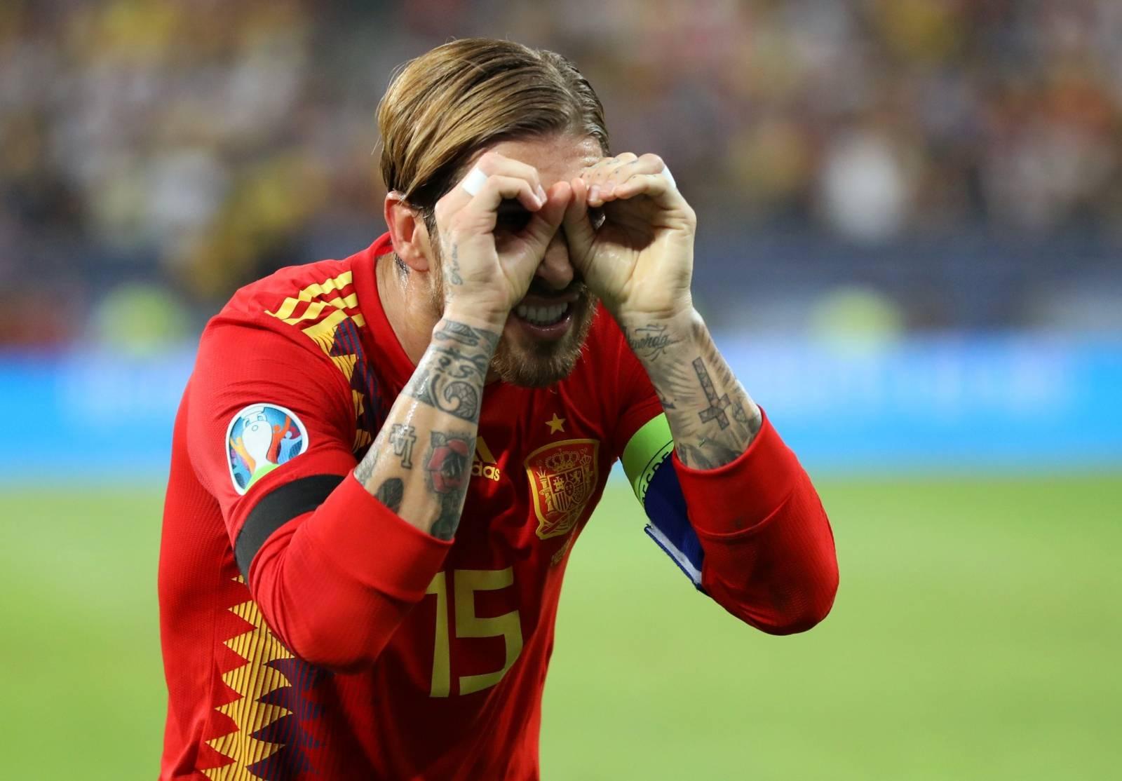 Euro 2020 Qualifier - Group F - Romania v Spain