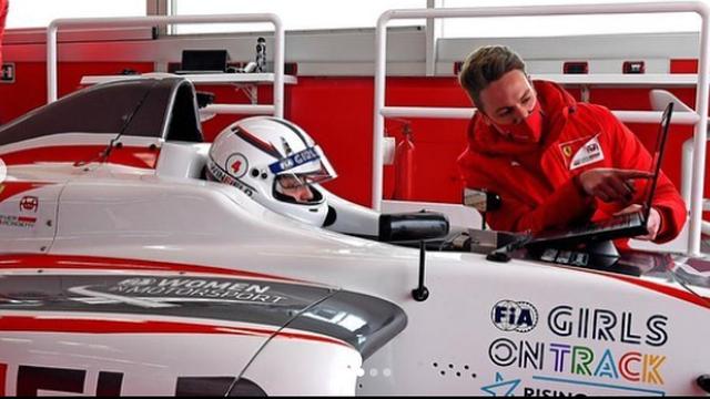 Prva vozačica ikad u akademiji Formule 1: Ušla u veliki Ferrari!