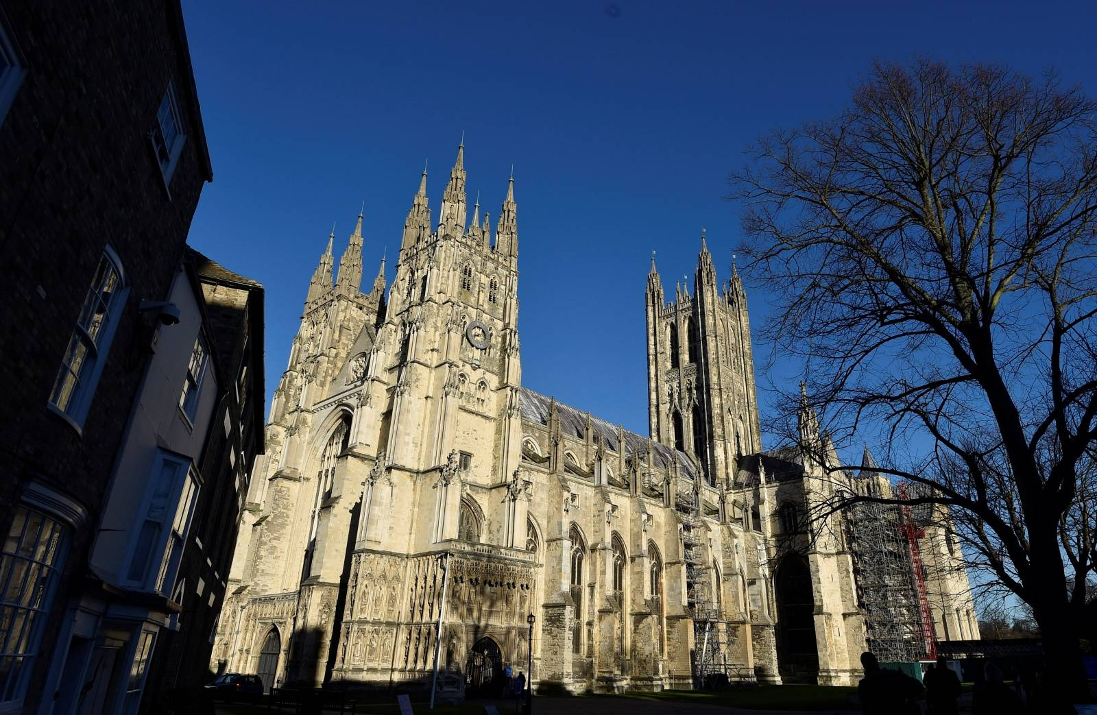 FILE PHOTO: Canterbury Cathedral is seen in Canterbury