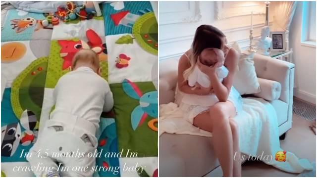 Sofija se hvali: 'Moj sin ima 4 i pol mjeseca i već zna puzati...'