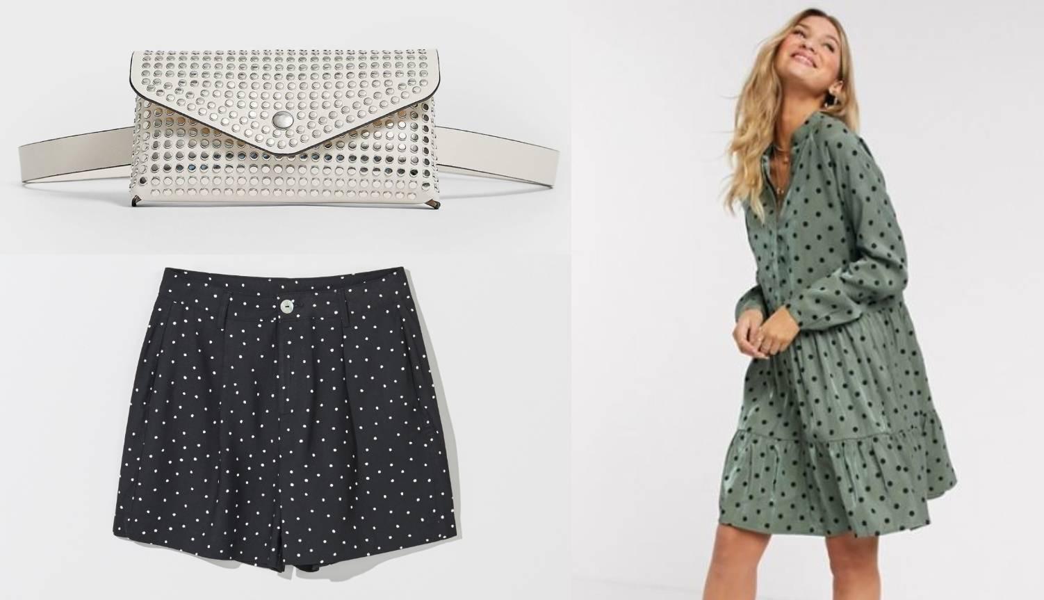 Veseli uzorak: 10 točkastih stvari, od haljine do torbice