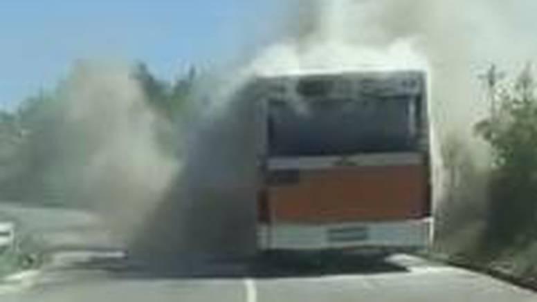 Libertasov autobus planuo je u vožnji: Putnici izašli na vrijeme