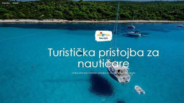 Hrvatska turistička zajednica pokrenula portal za plaćanje turističke pristojbe u nautici